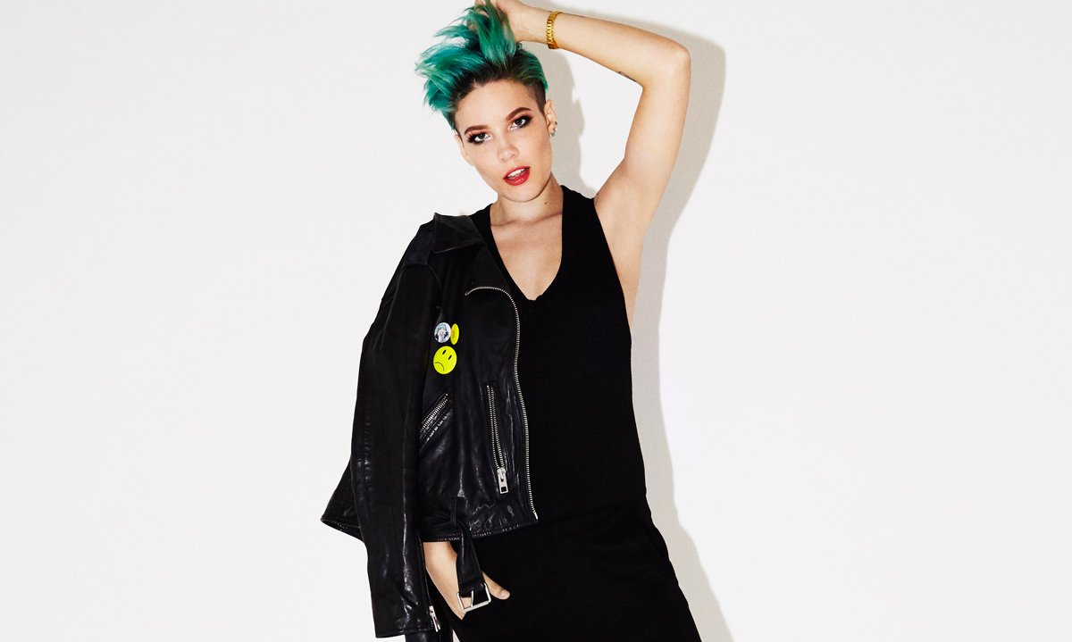 "Halsey interview: ""I don't believe people who say they're themselves all the time"""