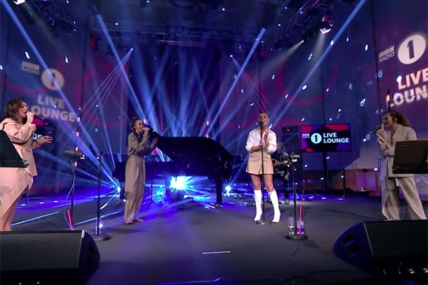 "Little Mix Covers Harry Styles' ""Falling"" On Live Lounge"