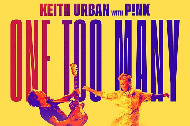 """Keith Urban & Pink Join Forces For """"One Too Many"""""""
