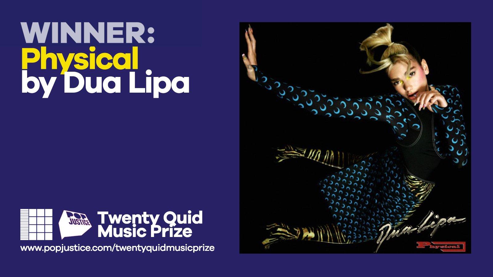 Twenty Quid 2020: Dua Lipa is the winner