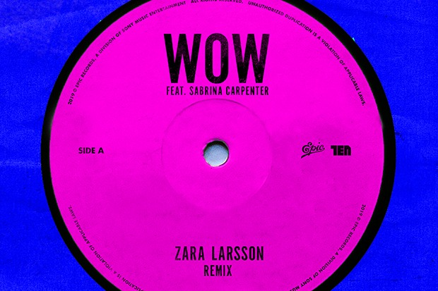 "Sabrina Carpenter Joins Zara Larsson For ""Wow"" Remix"