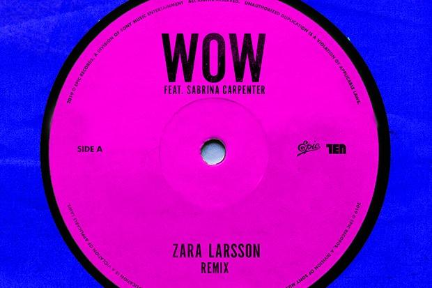 """Sabrina Carpenter Joins Zara Larsson For """"Wow"""" Remix"""