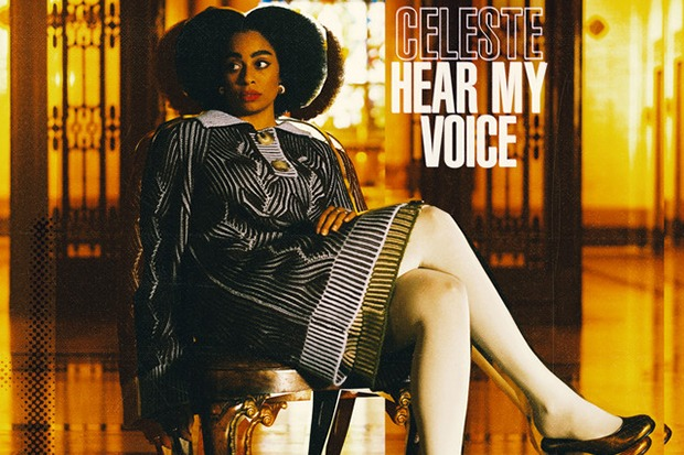 "Celeste Soars On Hopeful ""Hear My Voice"""