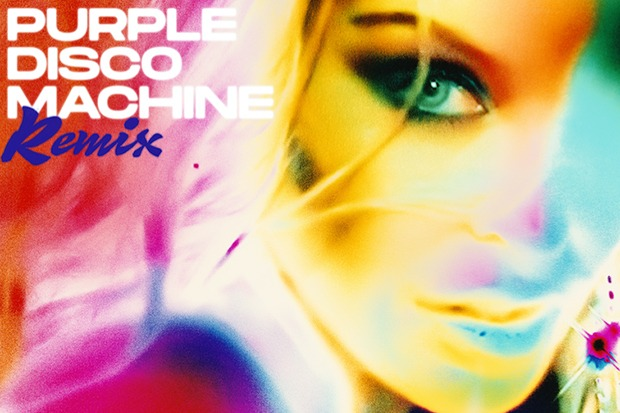 "Kylie Minogue Drops Purple Disco Machine Remix Of ""Magic"""
