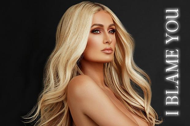 "Paris Hilton Announces New Single ""I Blame You"""