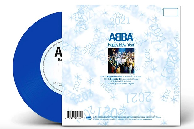 "ABBA Is Releasing ""Happy New Year"" On Ltd Edition 7″ Vinyl"