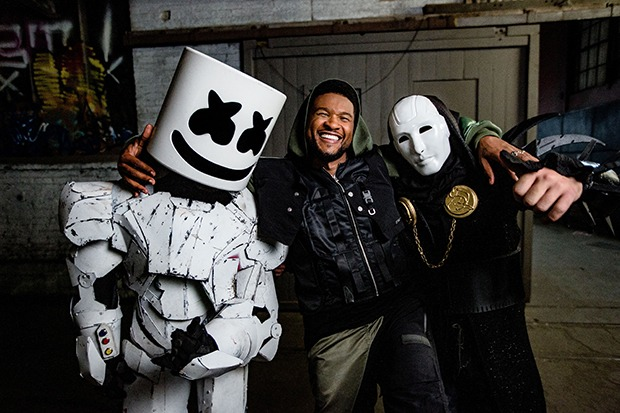 "Marshmello, Imanbek & Usher Join Forces For ""Too Much"""