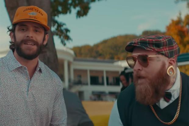 "Teddy Swims Taps Thomas Rhett For ""Broke"" Remix"