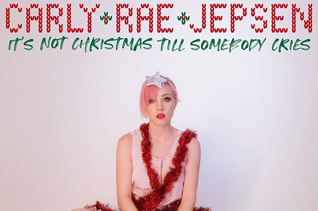 "Carly Rae Jepsen Announces ""It's Not Christmas Till Somebody Cries"""