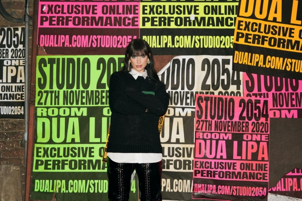 Dua Lipa Announces Virtual Concert Extravaganza 'Studio 2054'
