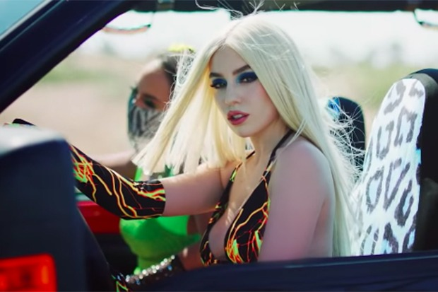 """Ava Max's """"OMG What's Happening"""" Video Is A Highway Romance"""