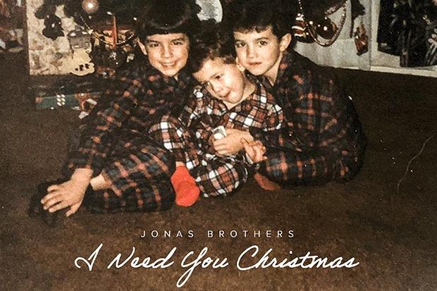 "Jonas Brothers Drop Festive Single ""I Need You Christmas"""