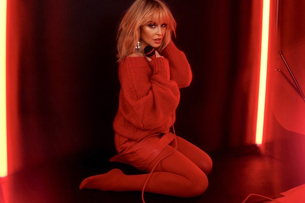 "Kylie Minogue Covers Troye Sivan's ""Cool"""