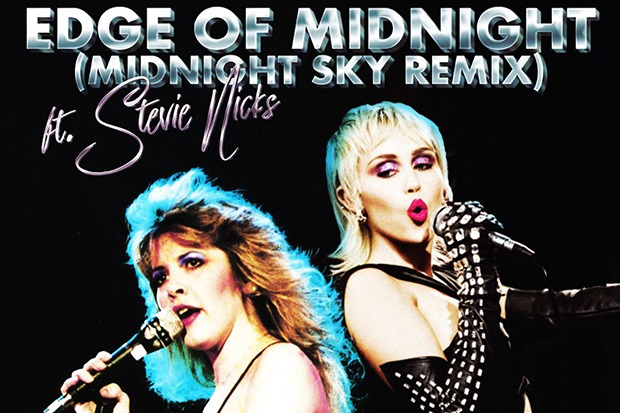 """Miley Cyrus Calls Stevie Nicks For """"Edge Of Midnight"""""""