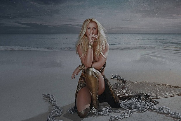 "Britney Spears Released Vinyl Single ""Swimming In The Stars"""