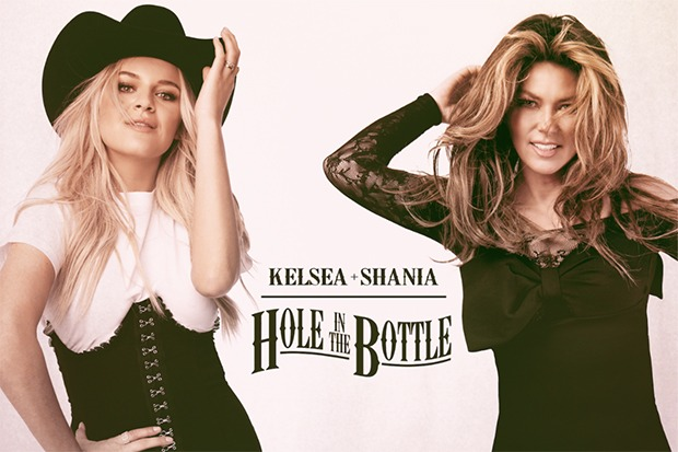 "Kelsea Ballerini Taps Shania Twain For ""Hole In The Bottle"" Remix"