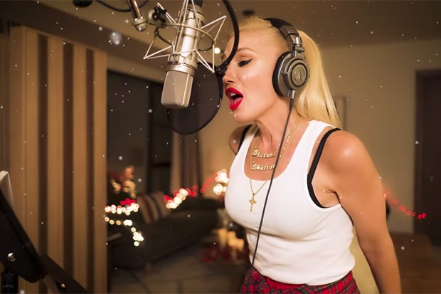 """Gwen Stefani Rolls Out """"Here This Christmas"""" Visual"""
