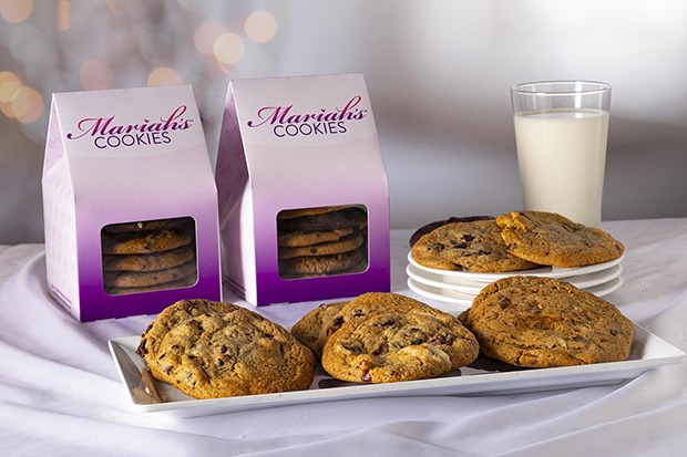 Mariah Carey Launches Cookie Brand Including Festive Flavors