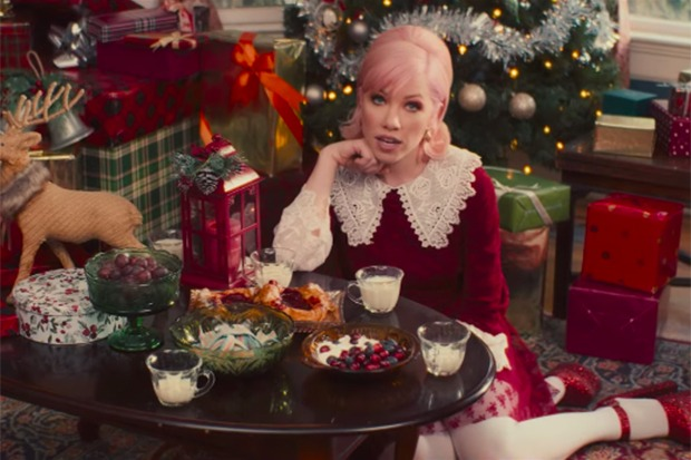 "Carly Rae Jepsen Drops ""It's Not Christmas Till Somebody Cries"" Video"
