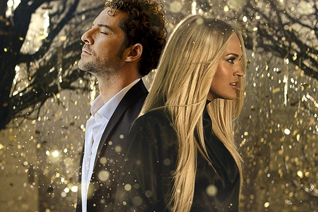 "David Bisbal & Carrie Underwood Team Up For ""Tears Of Gold"""