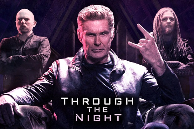 "David Hasselhoff Goes Metal On ""Through The Night"""