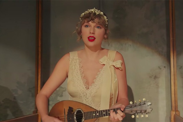 "Taylor Swift Introduces 'evermore' With ""willow"""