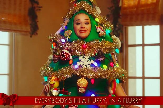 Katy Perry Uploads 'Disney Holiday Singalong Performance'