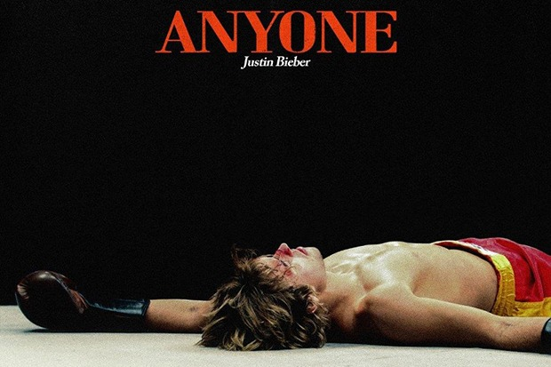 "Justin Bieber Kicks Off 2021 With ""Anyone"""