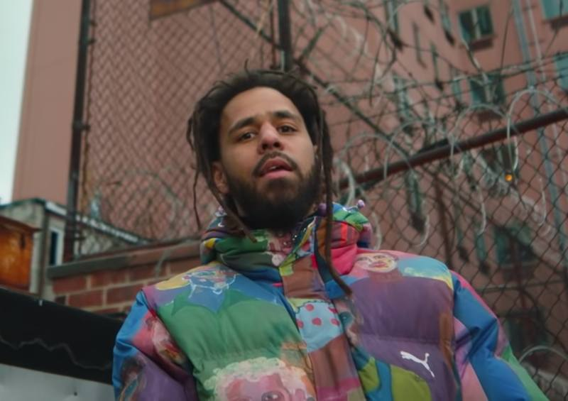 J. Cole Leaves A Booth On Fire In New 'Amari' Music Video