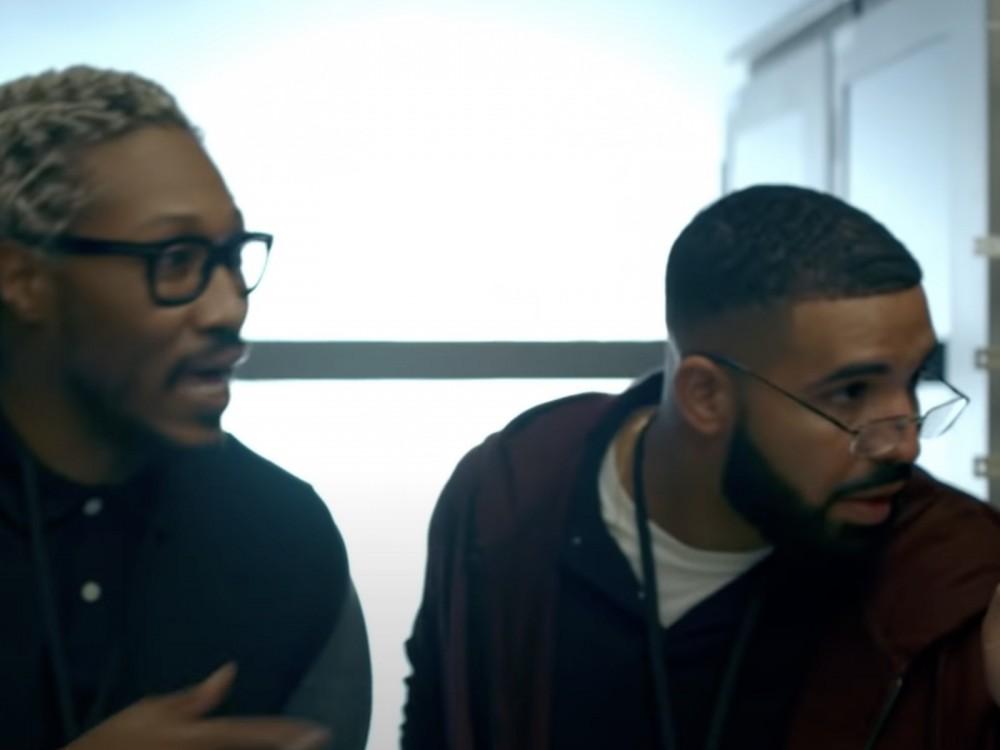Drake + Future Cooking Up In The Studio W/ Metro Boomin