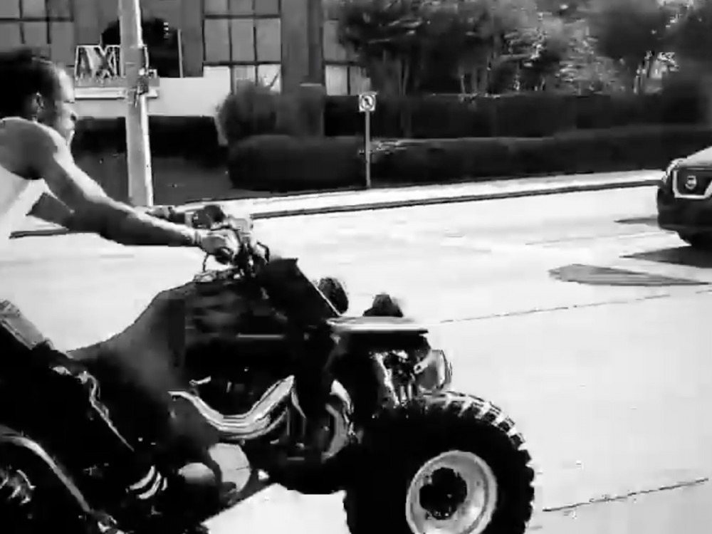 Meek Mill + Lil Uzi Vert Are Philly Kings On Dirt Bikes + ATVs