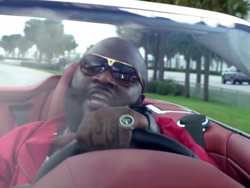 Rick Ross Saves At Least $1 Million Yearly Doing This Chore