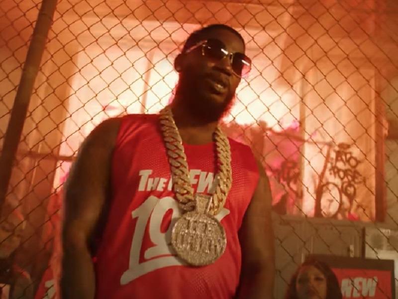 Gucci Mane + Keyshia Ka'oir Have An NBA Playoffs Date Night