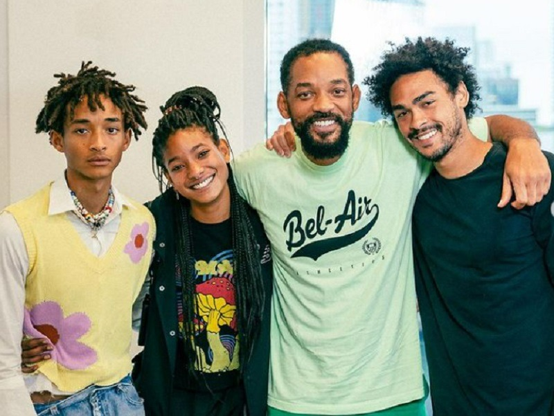 Will Smith Does His Part To Hype His Son Jaden's New Song