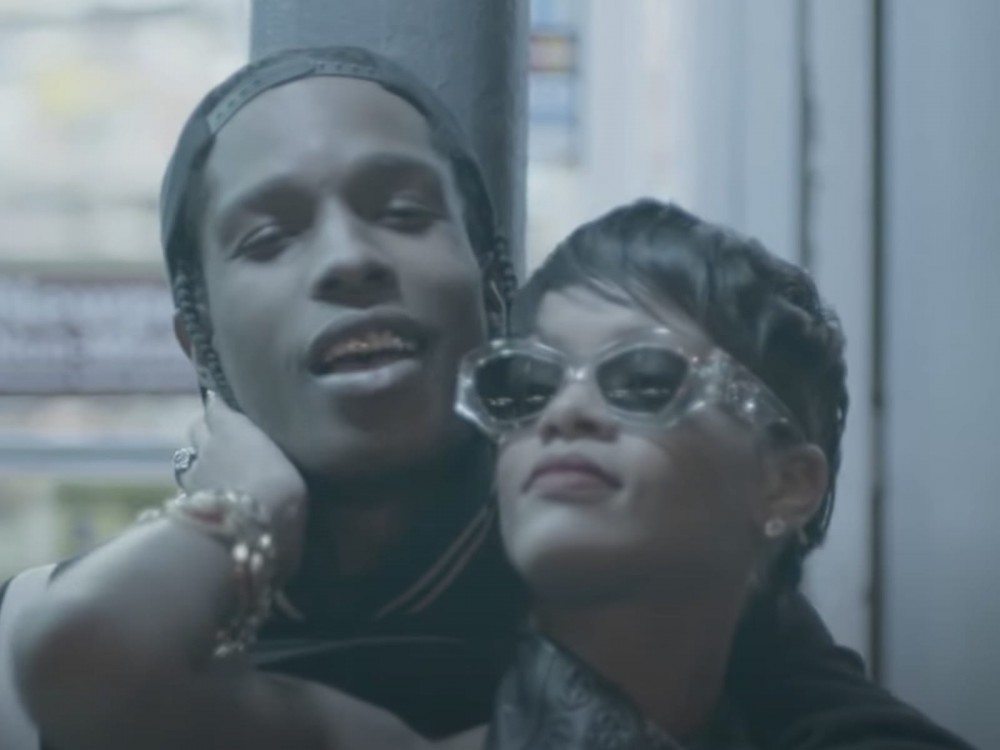 A$AP Rocky + Rihanna Dating Goals Undeniable In NYC