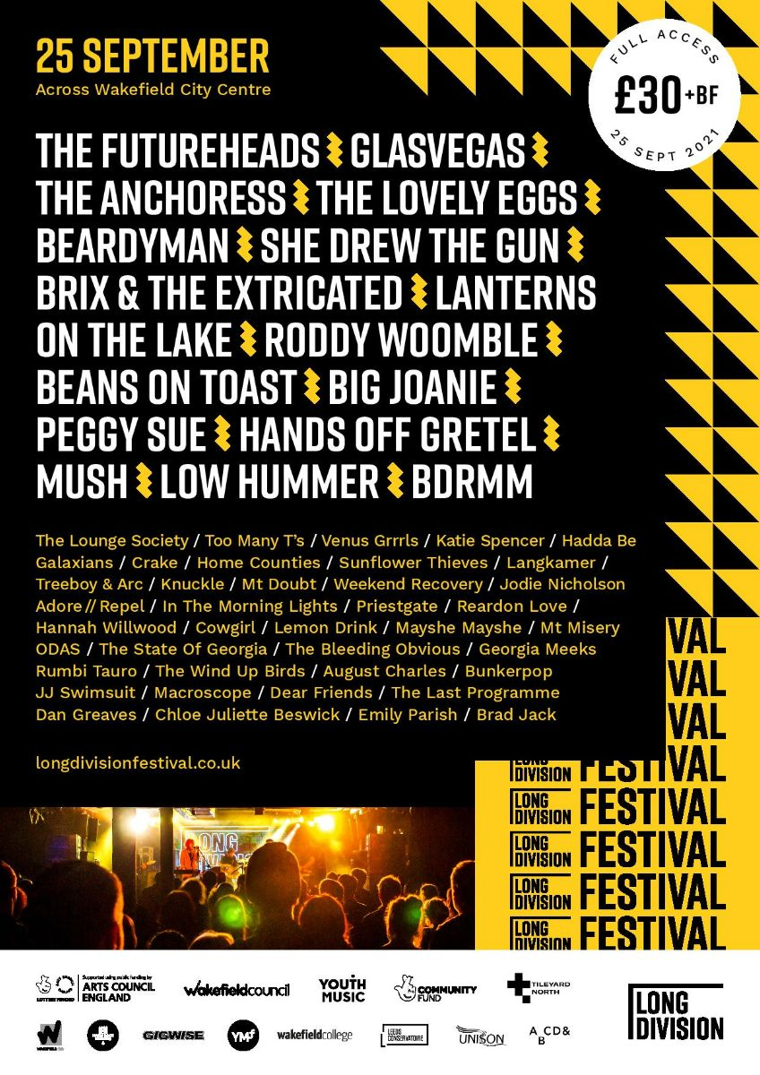 NEWS: New Artists Announced for Long Division Festival 2021