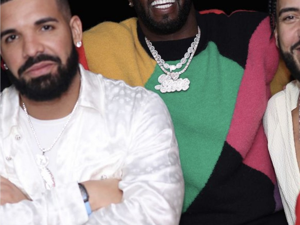 Diddy Powers Up W/ Drake + French Montana Together