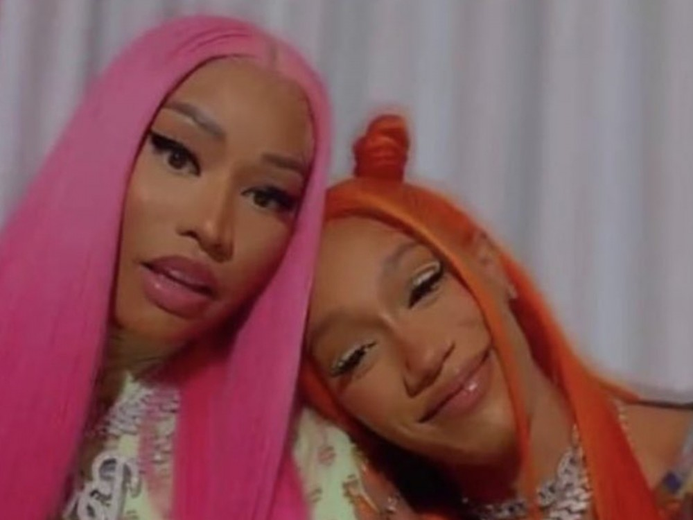 Nicki Minaj Can't Stop Hyping Up Her BIA Remix Right Now