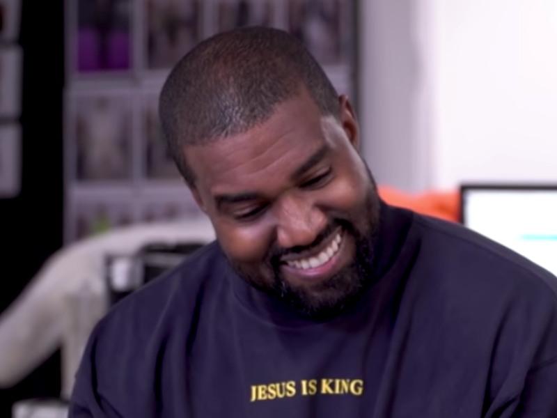 Kanye West + Irina Shayk All G.O.O.D Despite Breakup Reports