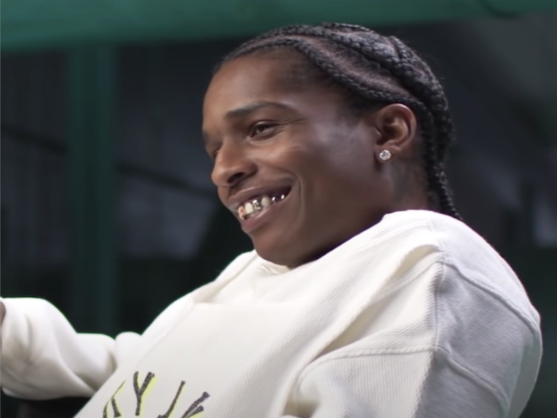 A$AP Rocky's Grinding Again W/ New Music + Film