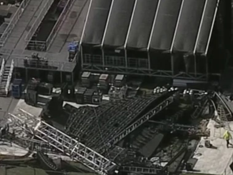 Rolling Loud Miami stage collapse