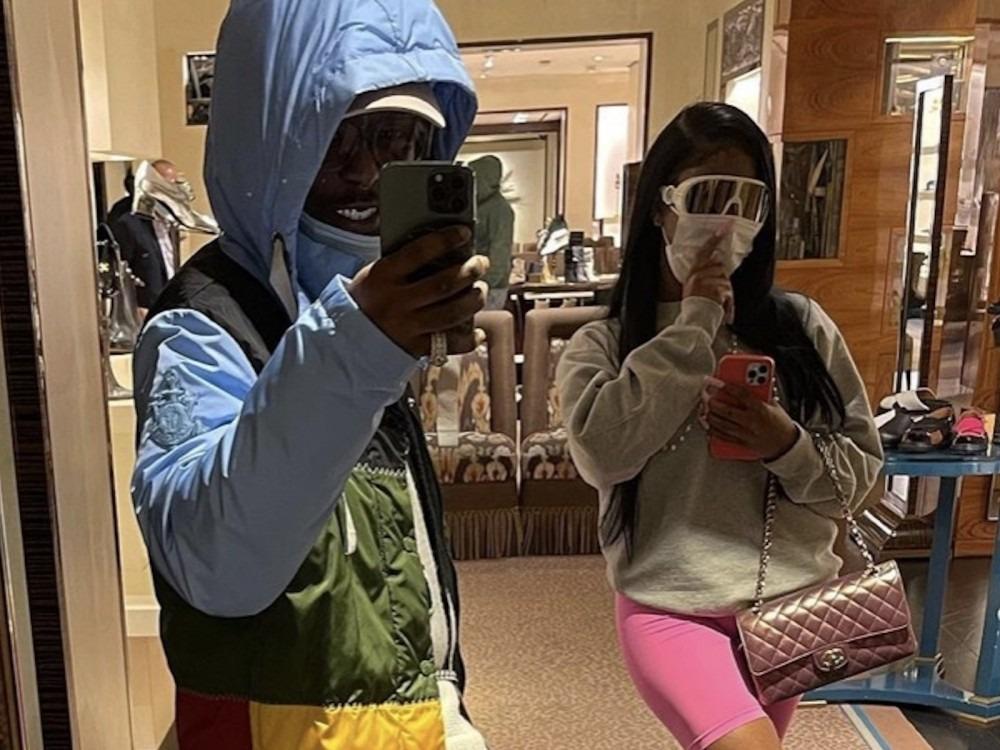 Lil Uzi Vert Explodes W/ Joy Over JT's Birthday Gifts