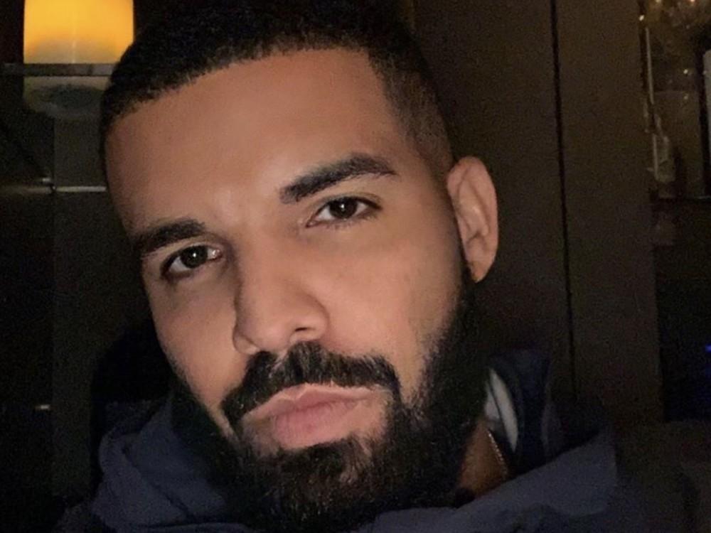 Drake Tries Out Daddy Duties W/ Johanna Leia's Son Amari Bailey