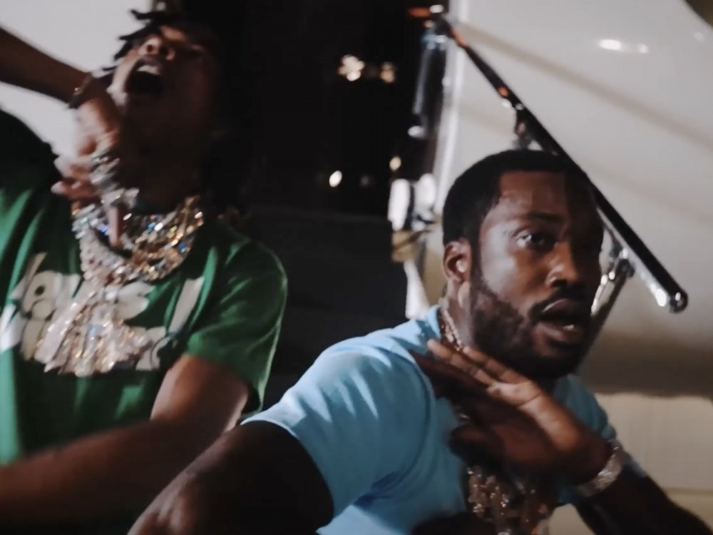 Meek Mill, Lil Durk + Lil Baby Go From Streets To Private Jets W/ 'Sharing Locations' Video