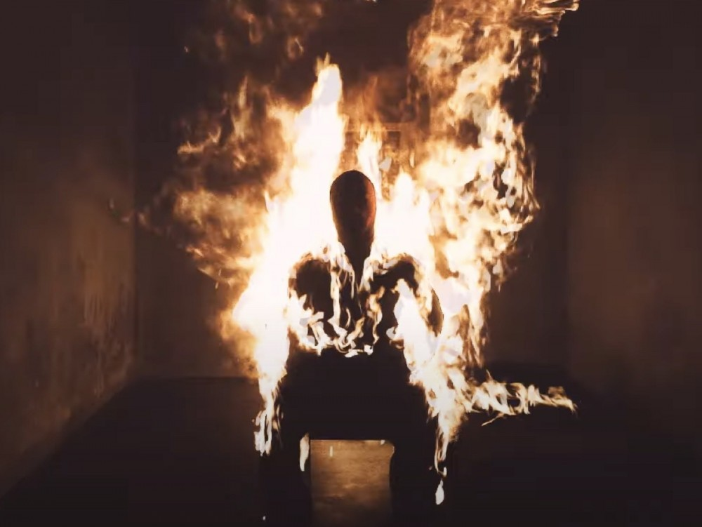 Kanye West's 'Come To Life' Video Is Straight Fire – Literally