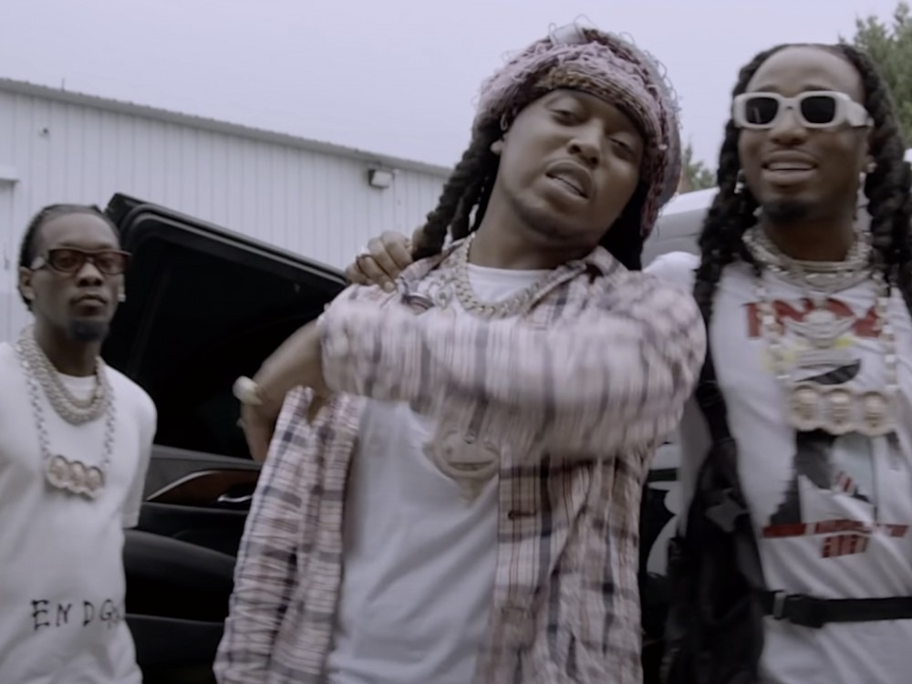 """Migos Celebrate Offset + Cardi B's Second Baby: """"#5 Has Landed"""""""