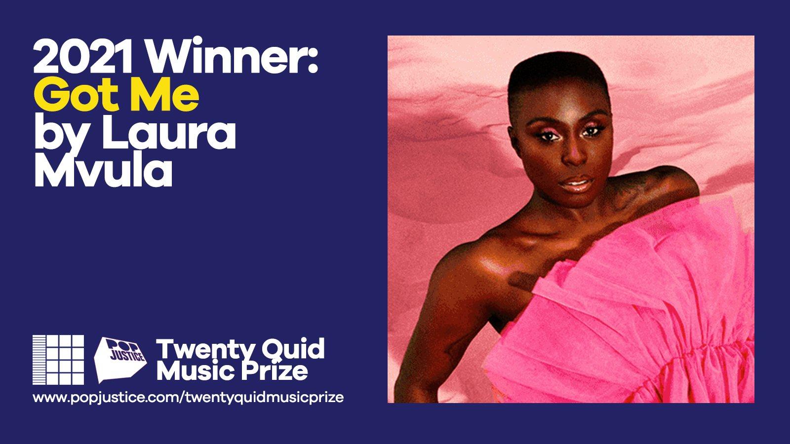 2021 Popjustice Twenty Quid Music Prize: Laura Mvula wins