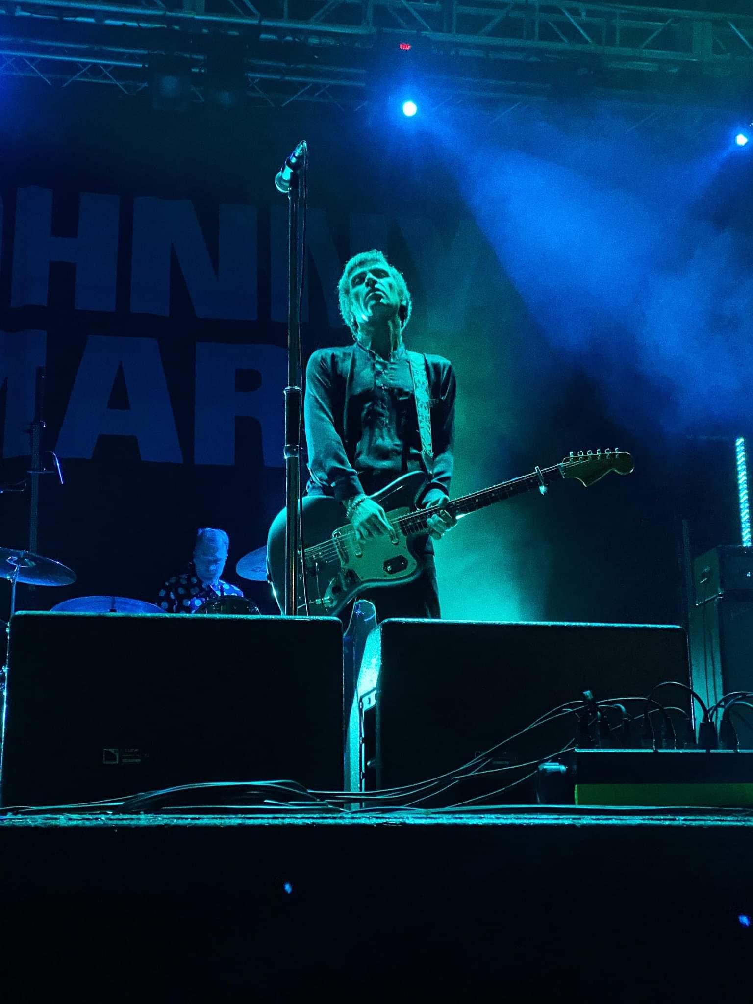 LIVE: Johnny Marr – King George's Hall, Blackburn, 21/09/2021