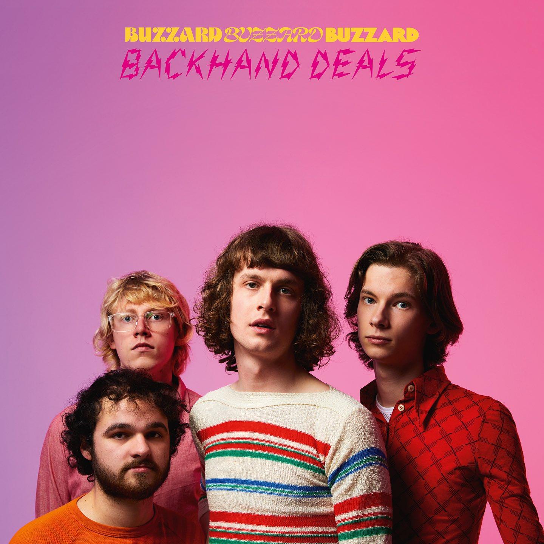NEWS: Buzzard Buzzard Buzzard announce debut LP 'Backhand Deals'