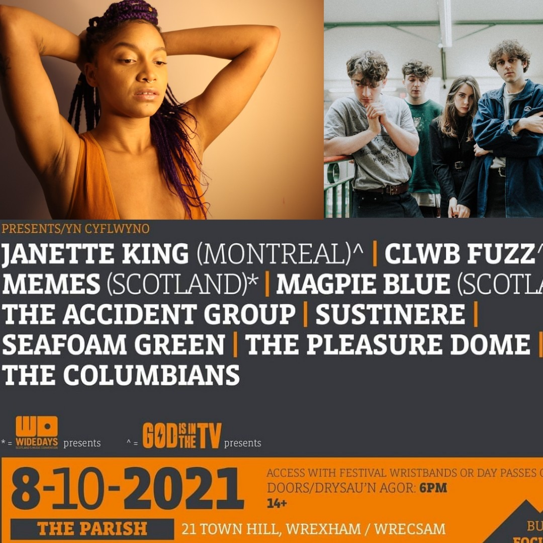 NEWS: GIITTV selects Janette King & Clwb Fuzz to play Focus Wales stage